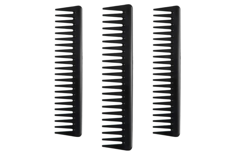 Wide-tooth comb for beginner barbers