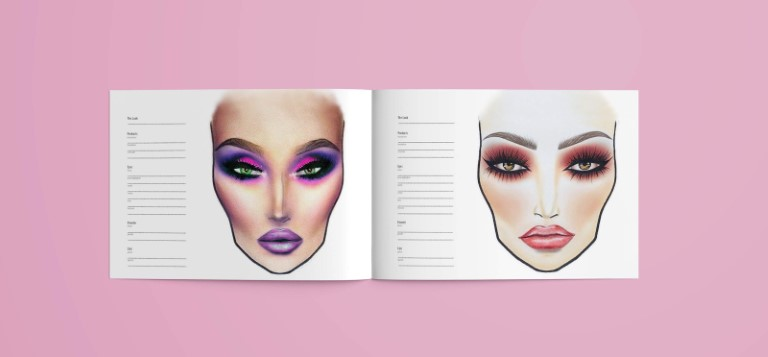 How To Use Makeup Artist Face Charts