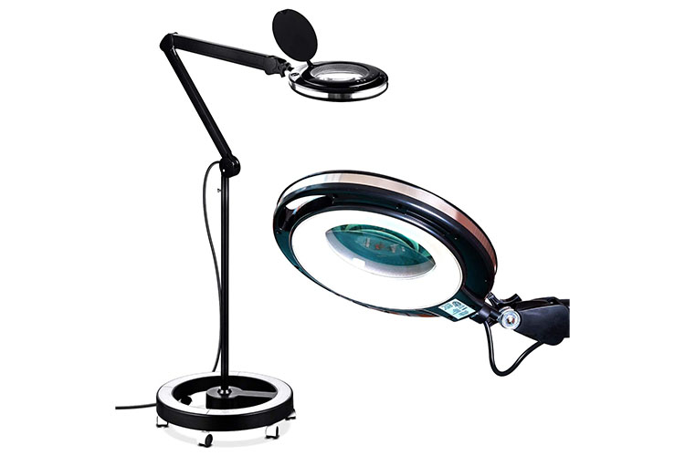 magnifying floor lamp goft for tattoo artists
