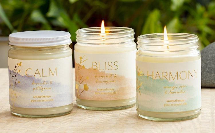 gift candles for therapist