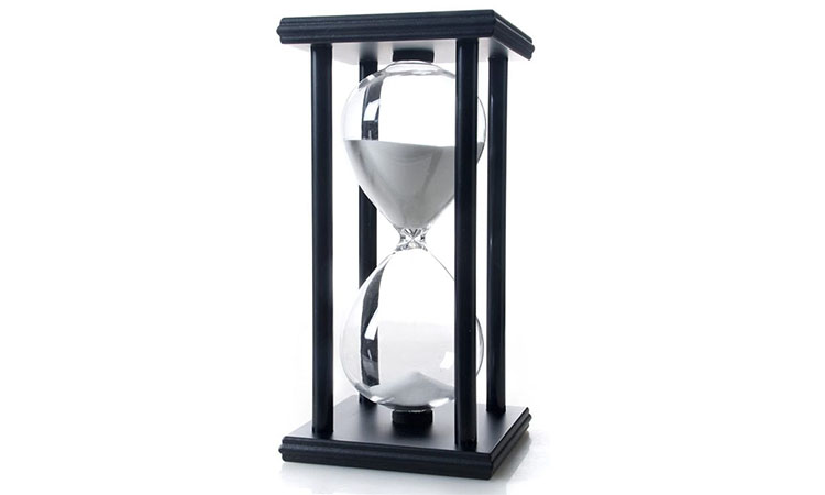 hourglass gift idea for therapist