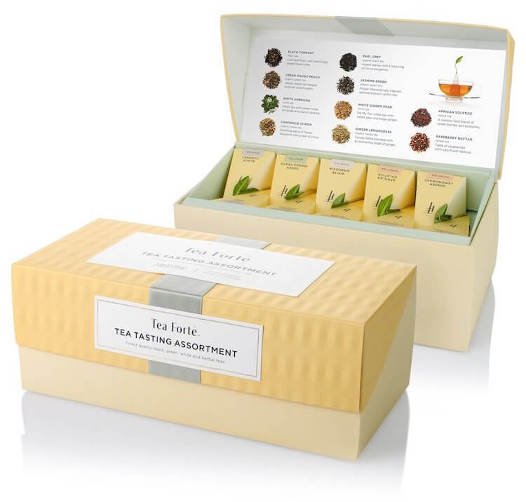 tea assortment gift ideas for therapists