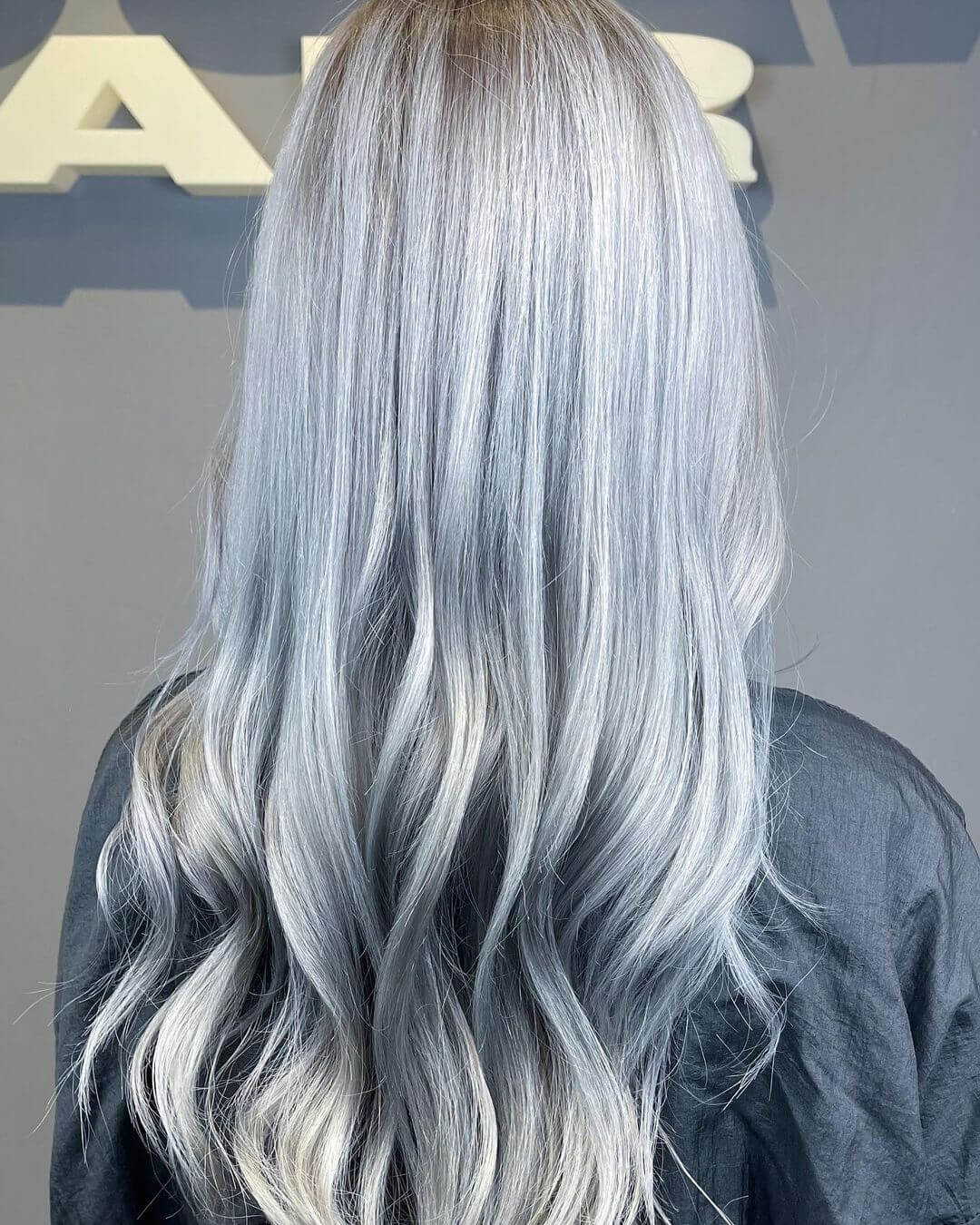 baby blue hair color