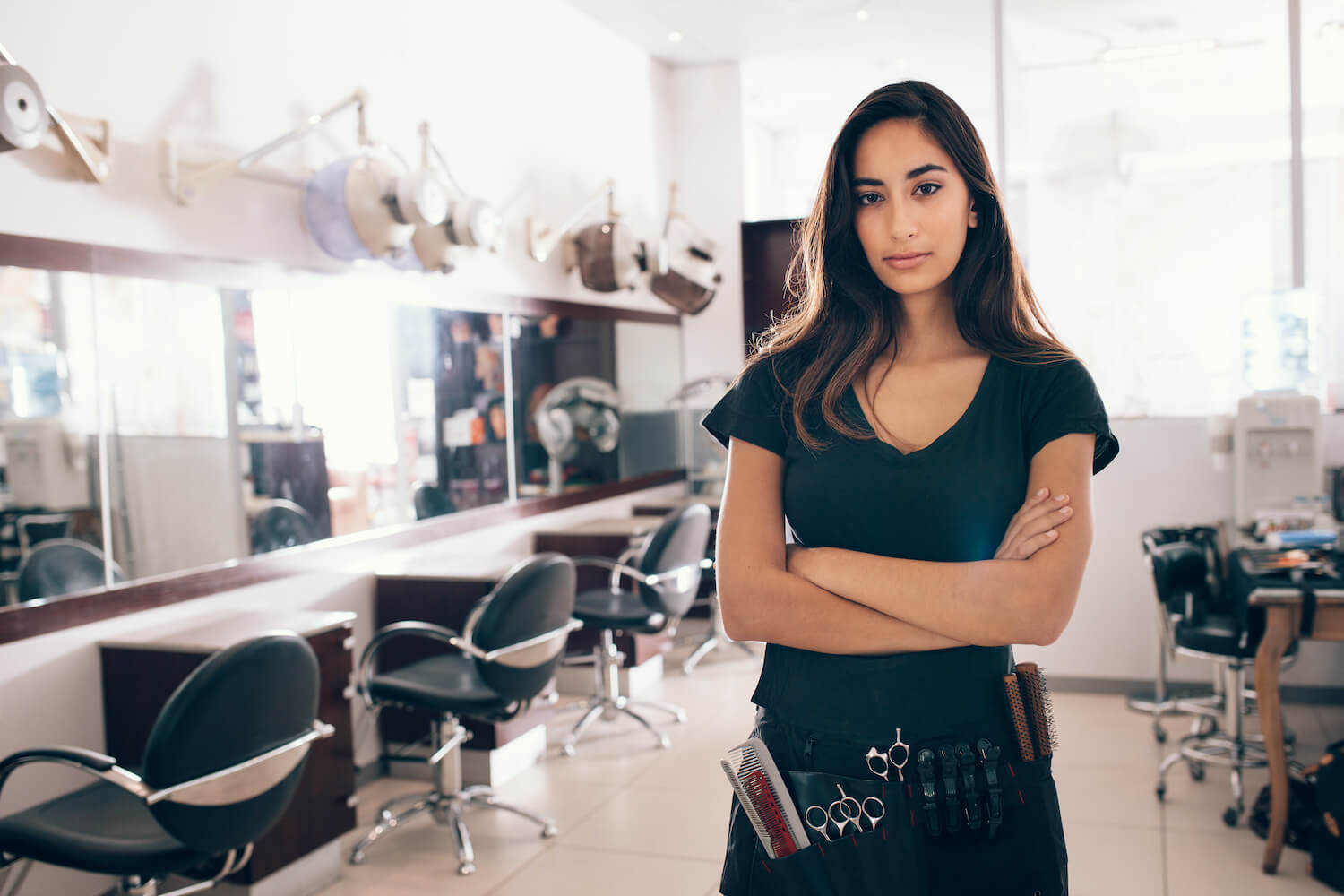hairdresses worried about hair salon costs
